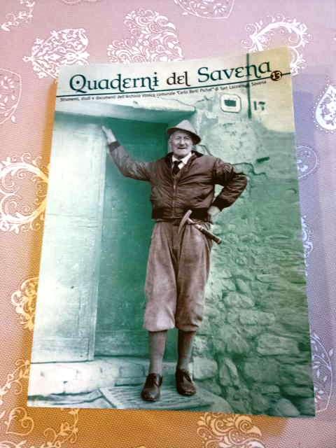 """L'ultimo numero di """"Quaderni del Savena"""""""