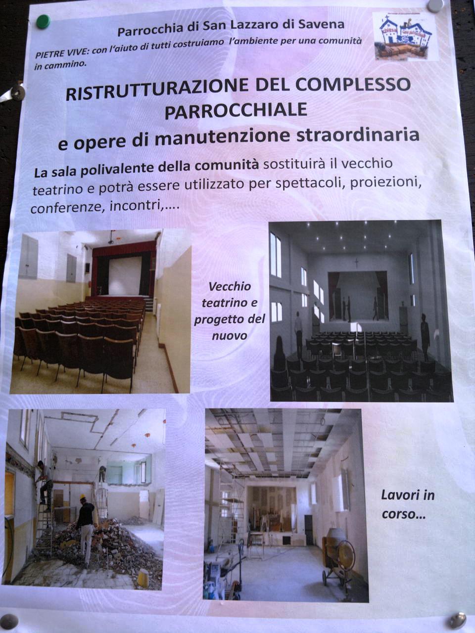 Avviso parrocchiale
